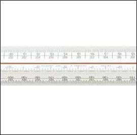 300mm Triangular Scale Rule